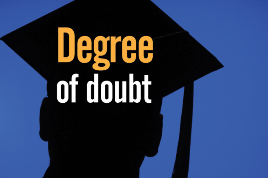 What is the process of getting graduate degree in an area that differs from your bachelor's degree?