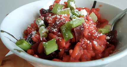 Meatless Monday: Beet risotto