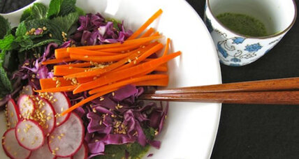 Meatless Monday: Asian purple cabbage salad with a creamy cilantro vinaigrette