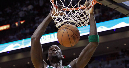 Garnett comes up big as Celtics stun Heat in Game 5