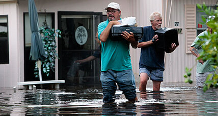 Tropical storm Debby: Flooding forces I-10 closure in Florida