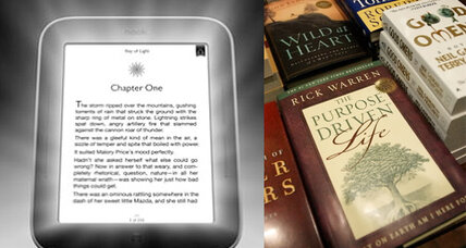 E-book sales surge ahead of hardcovers