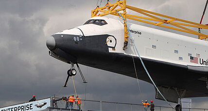 The space shuttle named by Star Trek fans makes its final voyage