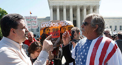 Supreme Court upholds parts of tough Arizona immigration law