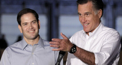 Why isn't Mitt Romney vetting Marco Rubio as a VP candidate?