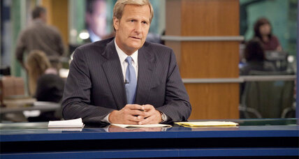 Aaron Sorkin's 'The Newsroom' gets off to a shaky start