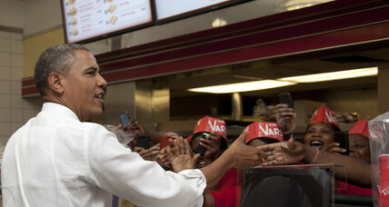 Poll: Obama beating Romney in Florida, Ohio, and Pennsylvania (+video)