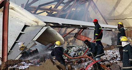 Nigeria plane crash: Did the plane run out of fuel?