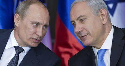 Israel and Russia: Trade and restive Arab world outweigh differences on Iran