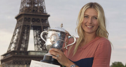 Sharapova to carry Russian flag at London Olympics opening ceremony