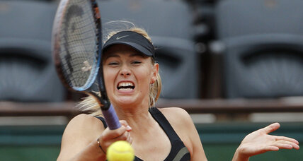 Sharapova, attempting career Grand Slam, reaches French Open semifinals
