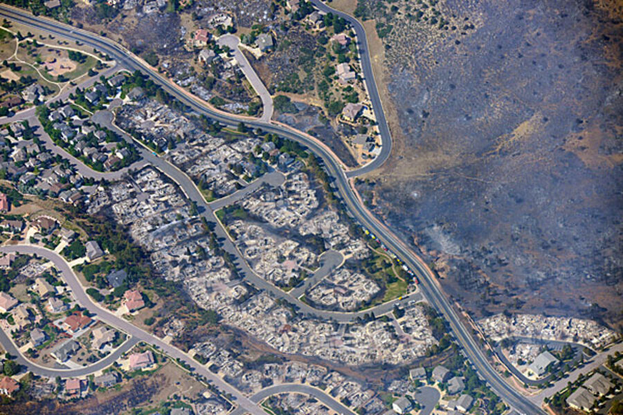 Waldo Canyon Fire About 300 Homes Destroyed In Colorado Springs