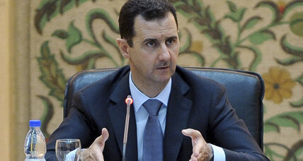 Syria's Assad: We are in a 'real state of war'