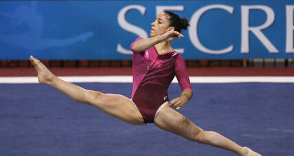 US gymnastics hopeful's steady work impresses Karolyi