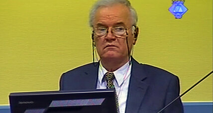 Mladic trial: first witness recounts escape from massacre during Bosnian war