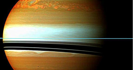 NASA probe spots bizarre lightning storm on Saturn