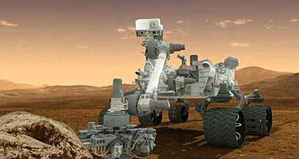 NASA Curiosity rover to seek water on Mars