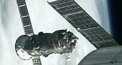 Unmanned Russian cargo ship undocks from space station