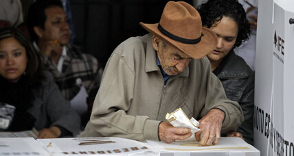 Mexicans at polls talk of jobs, drug violence