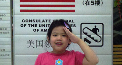 China adoption diary: Madeleine becomes a US citizen in minutes