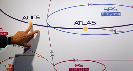 How exactly would a Higgs boson give a particle mass? (+video)