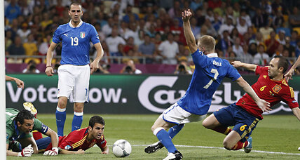 Spain wins UEFA Euro 2012. Does good soccer mean a bad economy?