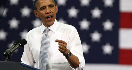 Obama and Romney scrap along battleground Florida's I-4