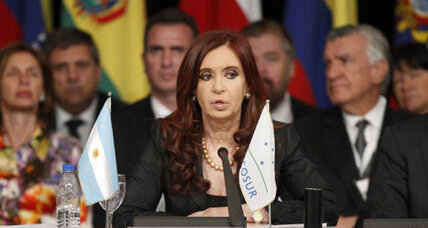 The Argentine president's secret weapon? A super-charged youth movement.