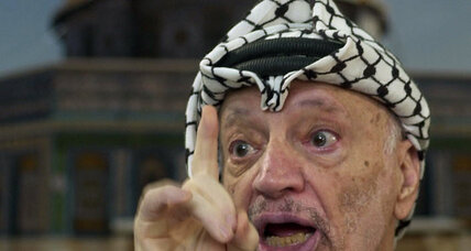 Yasser Arafat killed by radiation poisoning?
