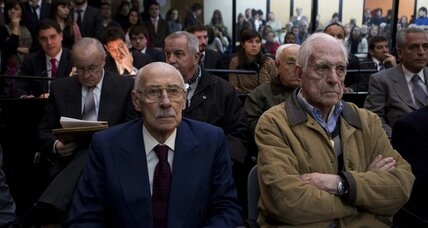 Former Argentine dictators found guilty of stealing babies