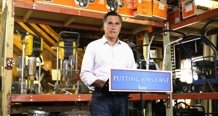 Romney raised $100 million in June. Will that quiet conservative critics? (+video)
