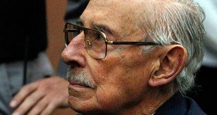 Former Argentine dictator Jorge Videla convicted of systemic theft of babies