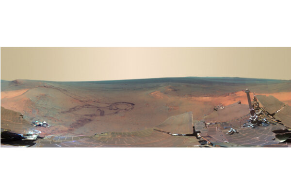 Mars rover beams amazing panorama back to Earth ...