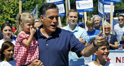 Romney's safe approach draws criticism from some in GOP