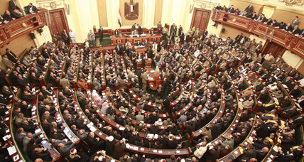 Egypt's president orders parliament to reopen