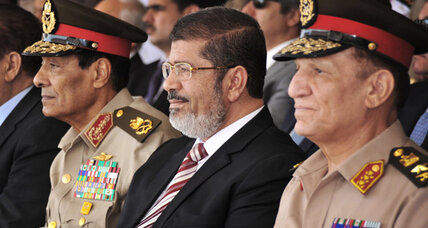 Egypt's president reopens parliament, Army response awaited