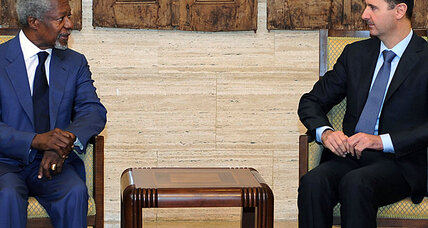 Annan and Bashar al-Assad agree on 'new approach' to Syrian conflict