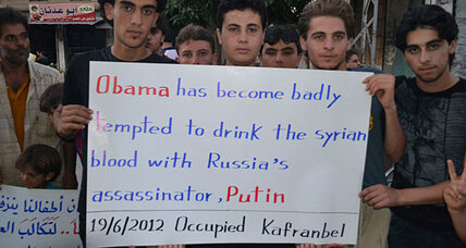 Syria: Has Obama done enough to bring the violence to an end? (+video)