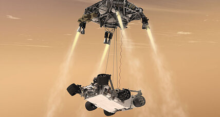 Will NASA's Mars rover crash?