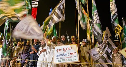 What the anti-NATO protest signals for Pakistan