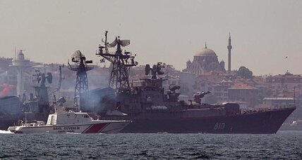 Moscow sends warships to Syria: war games or evacuation?