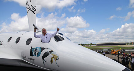 Virgin Galactic: Branson eyes 2013 launch for private space travel