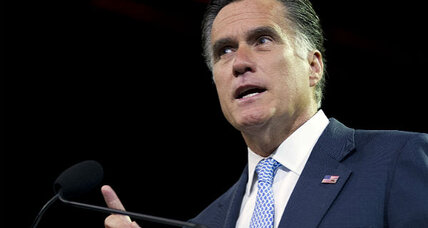 When did Romney leave Bain? (+video)