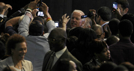 Joe Biden fires up NAACP. Where was President Obama?
