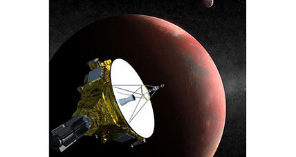 Pluto's new moon could cause problems for space probe, says NASA