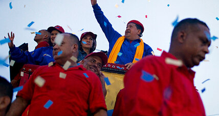 Is Hugo Chavez a US security threat?