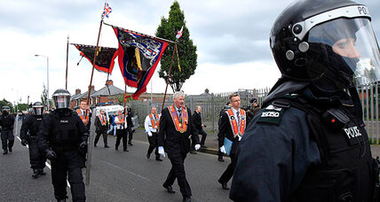 Rioting 'anarchy' in Belfast after token Orange parade