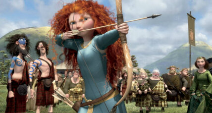 'Brave' princess breaks Disney stereotypes. Or does she?