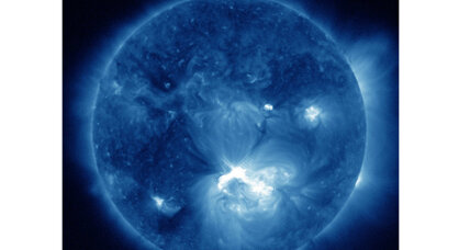 Huge solar storm hurtling toward Earth this weekend