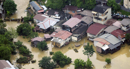 Japan floods: 25 dead, but worst said to be over